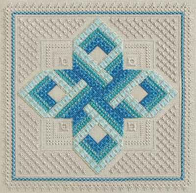 Rachel Atkinson - Gordian Knot ANG I am stitching this design I have changed my colors slightly though. Diana M