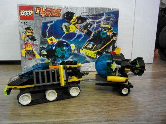 LEGO Alpha Team ATV 2001