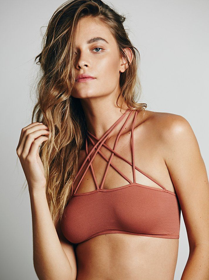 Free People Strappy Front and Back Bra, Mex$833.64