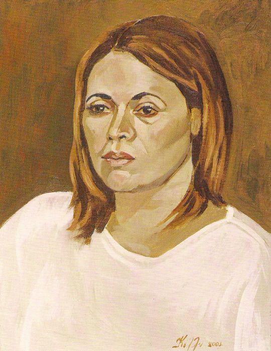 Oil on canvas 40x50 kelly Papastogiannoudi