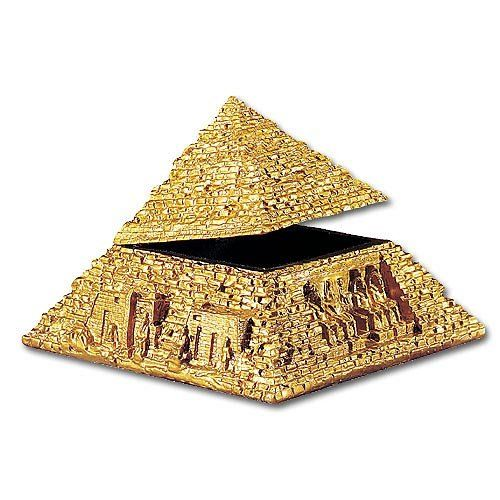 Egyptian Pyramid Trinket Box – Collectible Figurine - Arts and Crafts Products and Supplies
