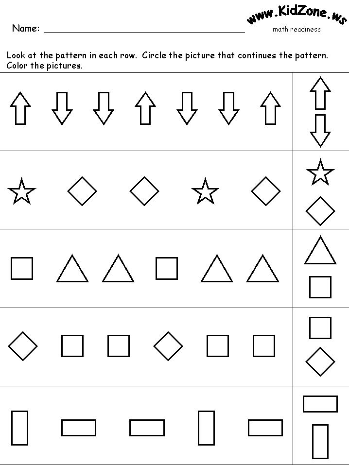 110 best work sheets and games for kids images on Pinterest ...
