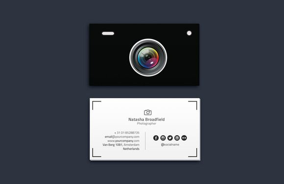 Photographer Business Card Vol. 02 by Easygraphics on Creative Market