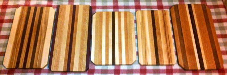 More of our new line of Wooden Cutting Boards