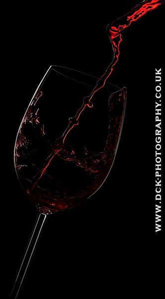 ✯ Red Wine Pplash! .. Photography David Kittos ✯