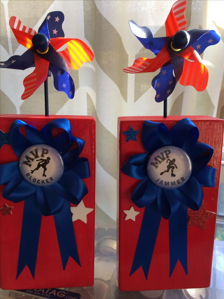Roller derby MVP trophies for Dire Skates Roller Derby!
