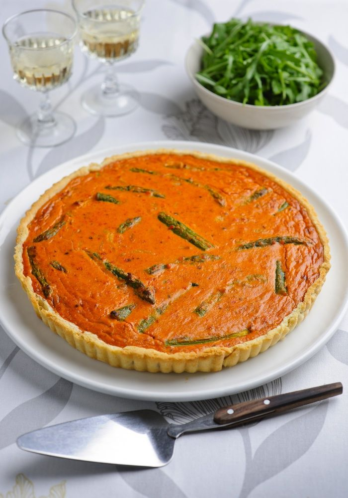 ... Riffs on Sweet and Savory Tarts Asparagus and Crab Tart Recipe