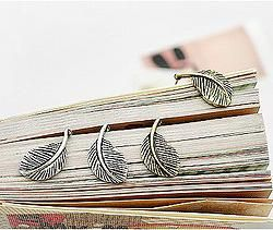 Cercei frunzulita silver
