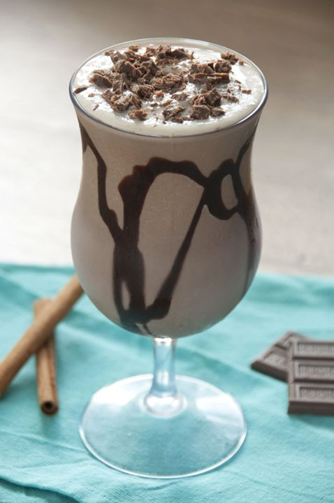 Frozen Hot Chocolate | Wishes and Dishes
