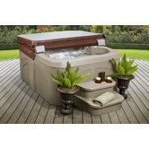 Found it at Wayfair - Rock Solid Simplicity Plug and Play Spa with 12 Jets 2479.00