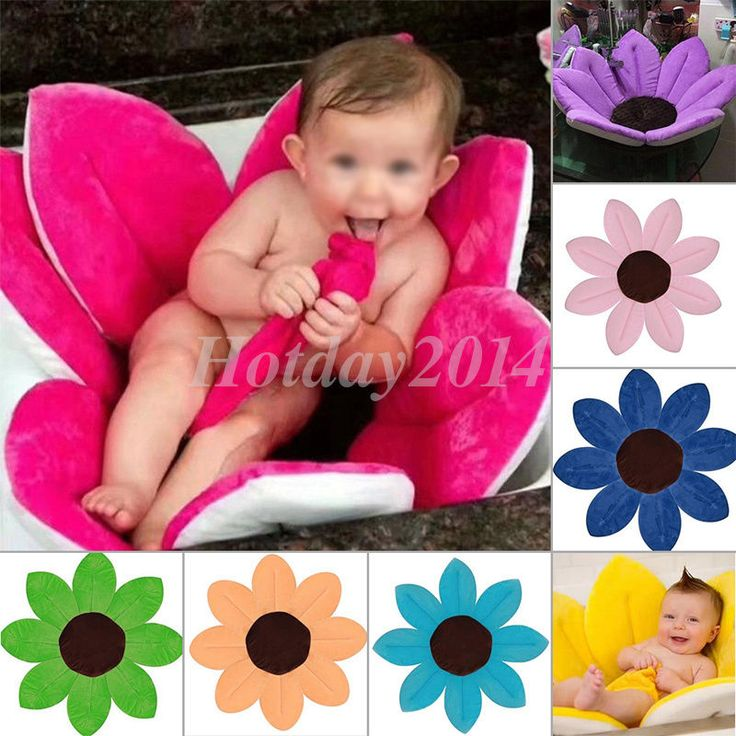 Baby Bath Tub Flower Bath Tub Basin Sink Bath For Baby Infant Fun Blooming Lotus