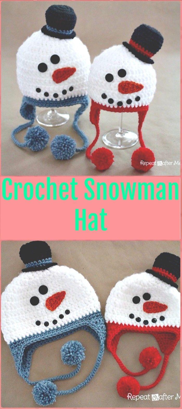 15 padrões de chapéu de Natal de crochê bonito - livre padrões