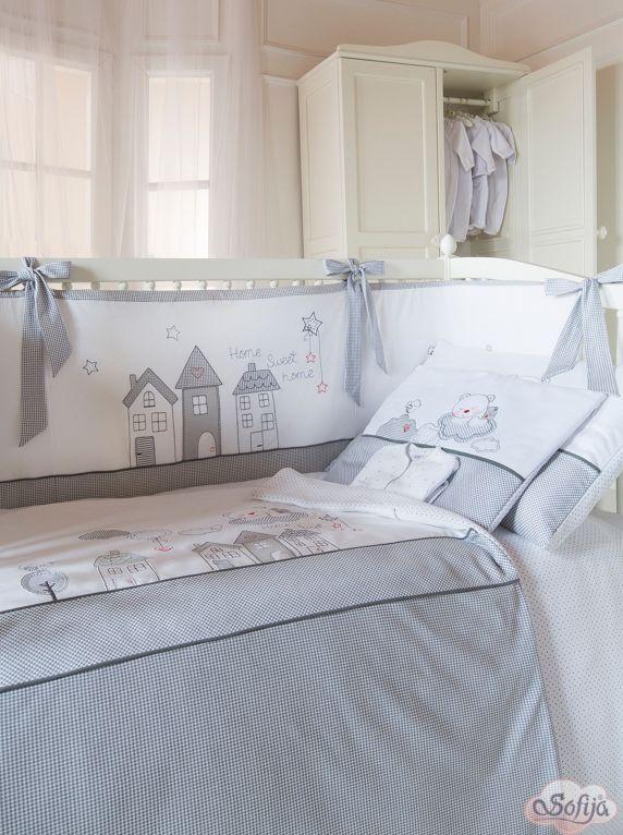 Bawełniana pościel do łóżeczka dziecięcego Muffi  www.sofija.com.pl #dziecko #pościel #bawełna #pokójdziecka #sen #spanie #kids #kinder #baby #bettwäsche #ребенок #номерребенка