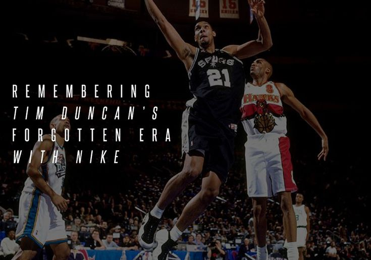 #sneakers #news  Remembering Tim Duncan's Forgotten Era With Nike