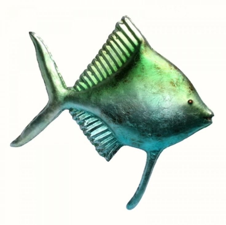 Lustro Fish I Metal Wall Art Buy Online Australia
