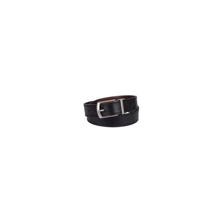 Dickies Men's Cut Edge Reversible Belt - Black/Brown 34