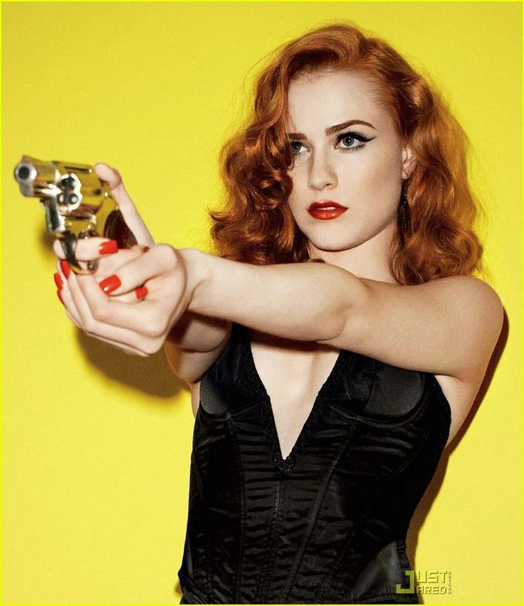 Evan Rachel Wood- so much power in this shot --pun intended