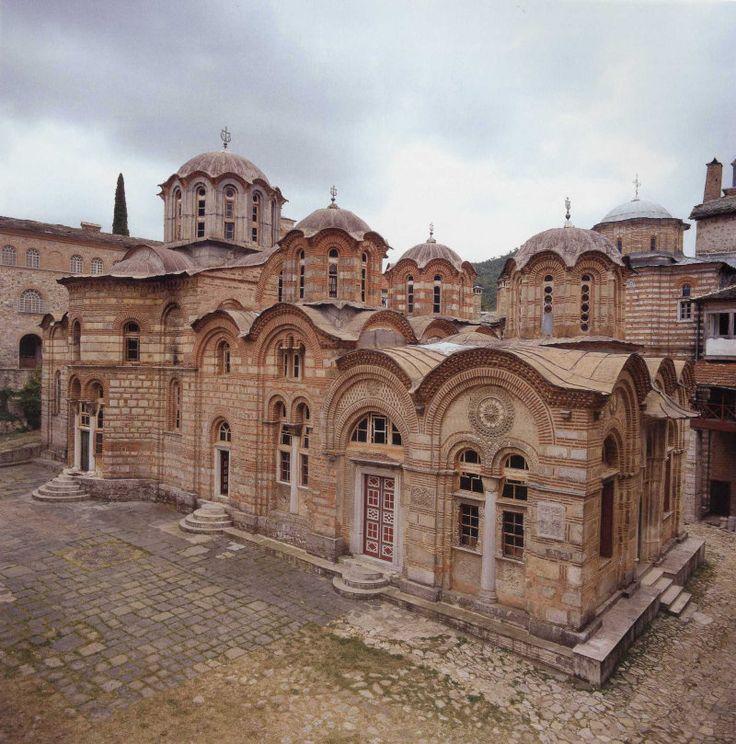 Serbian Hilandar monastery katholikon, Athos