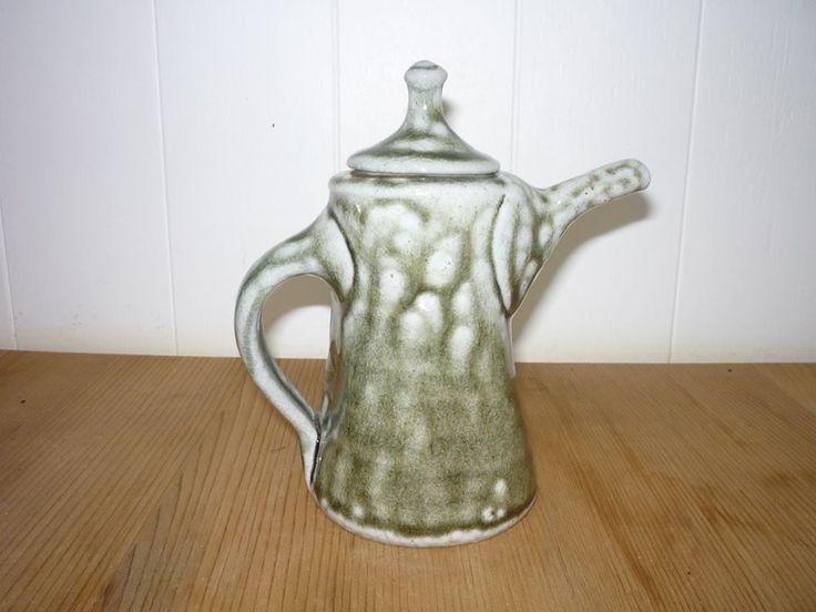 Andrew Van Der Putten salt-glazed teapot