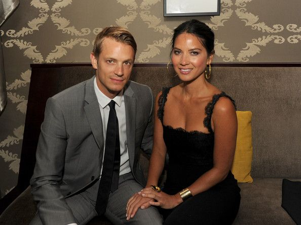 "dress      Joel Kinnaman and Olivia Munn Photo - Film Independent's 2012 Los Angeles Film Festival Premiere Of Warner Bros. Pictures' ""Magic Mike"" - After Party"
