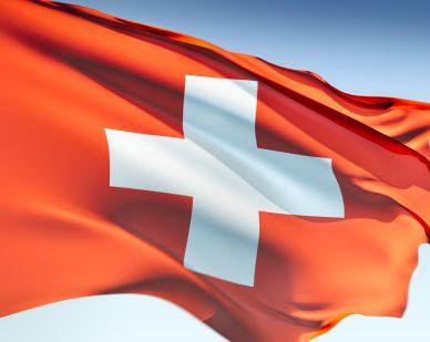 Flag of Switzerland.