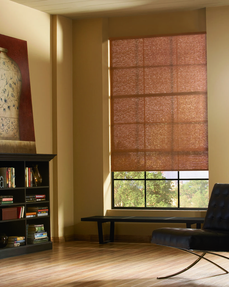 Designer screen shades come in a wide variety of colors and opacity  Let us  help138 best Family Rooms   Window Treatments images on Pinterest  . Living Room Shades. Home Design Ideas