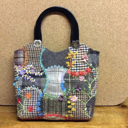 Foolproof Crazy Quilt Project - Upcycled Wool Bag (Part Three) FINISHED! – Sew, What's New?