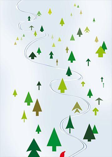 """Postcard """"Weiter so!"""" © intwodesign"""