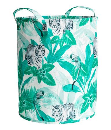 Storage Basket | Green/jungle | Home | H&M US