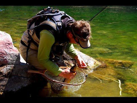 Рыбалка на форель в горах на спиннинг.
