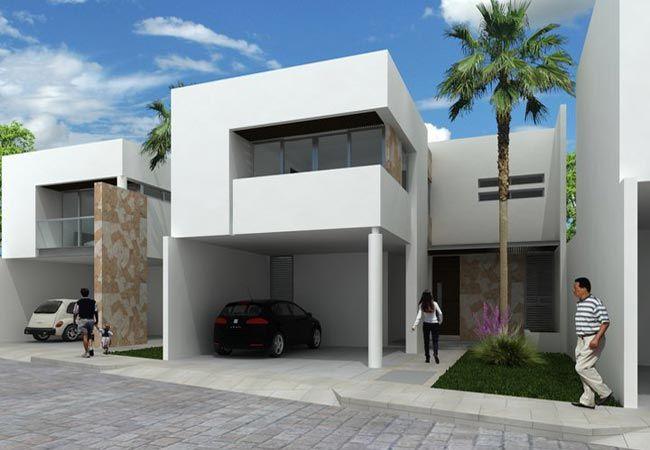 Frente de 10 metros pesquisa google fachadas for Fachadas de casas modernas de 6 metros