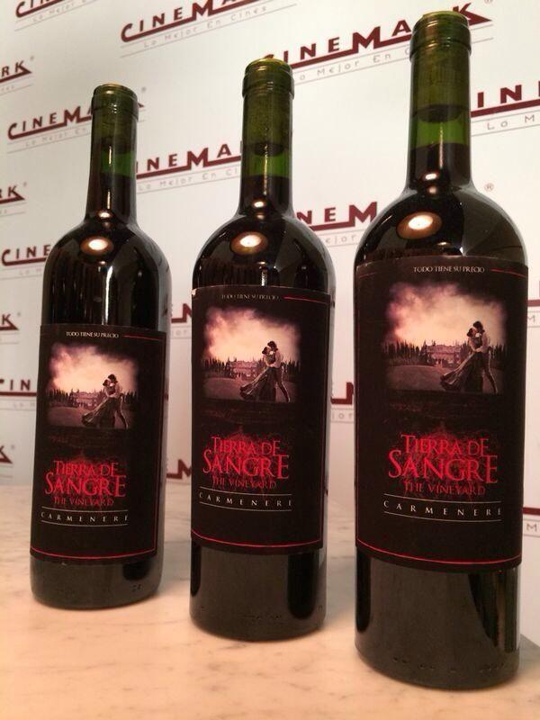 Botellas de #TierradeSangre