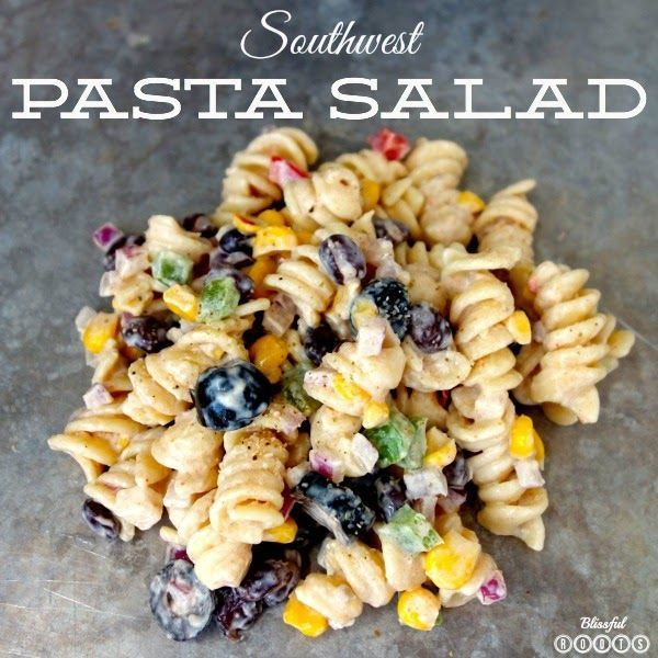 Recipe for southwestern pasta salad