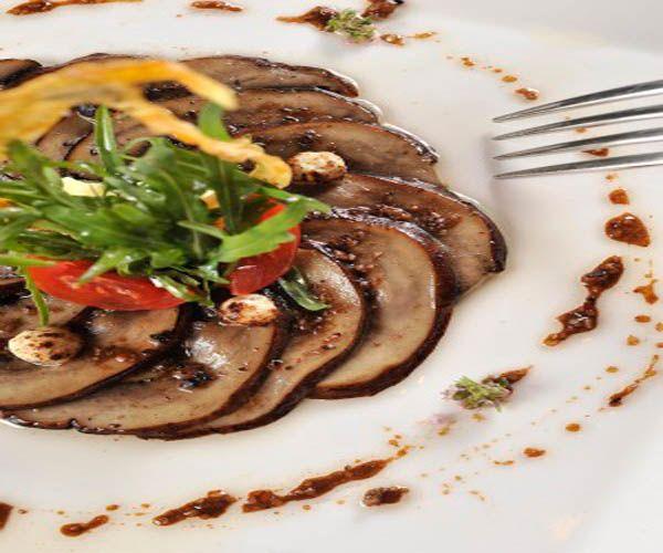 Carpaccio de Portobello - Menú diario