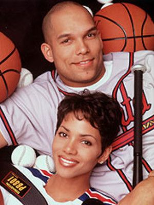 David Justice & Halle Berry