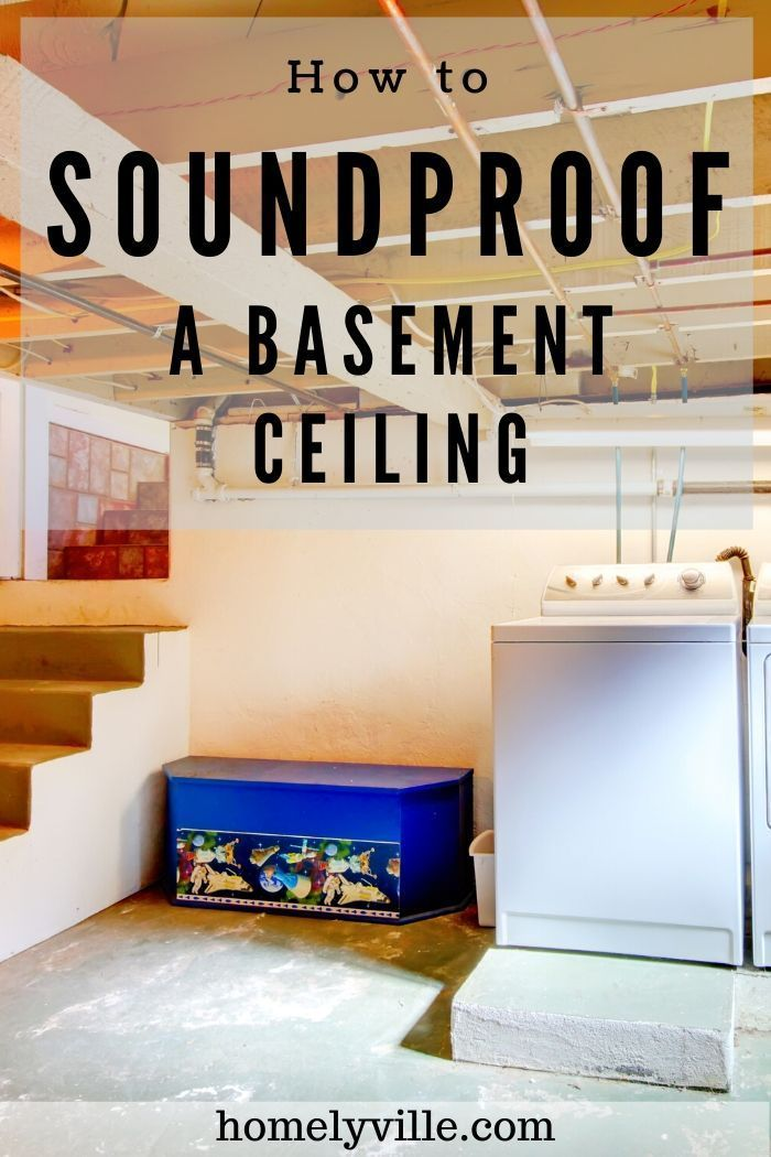 How To Soundproof A Basement Ceiling Using Cheap Diy Options In 2020 Basement Ceiling Basement Ceiling Painted Sound Proofing