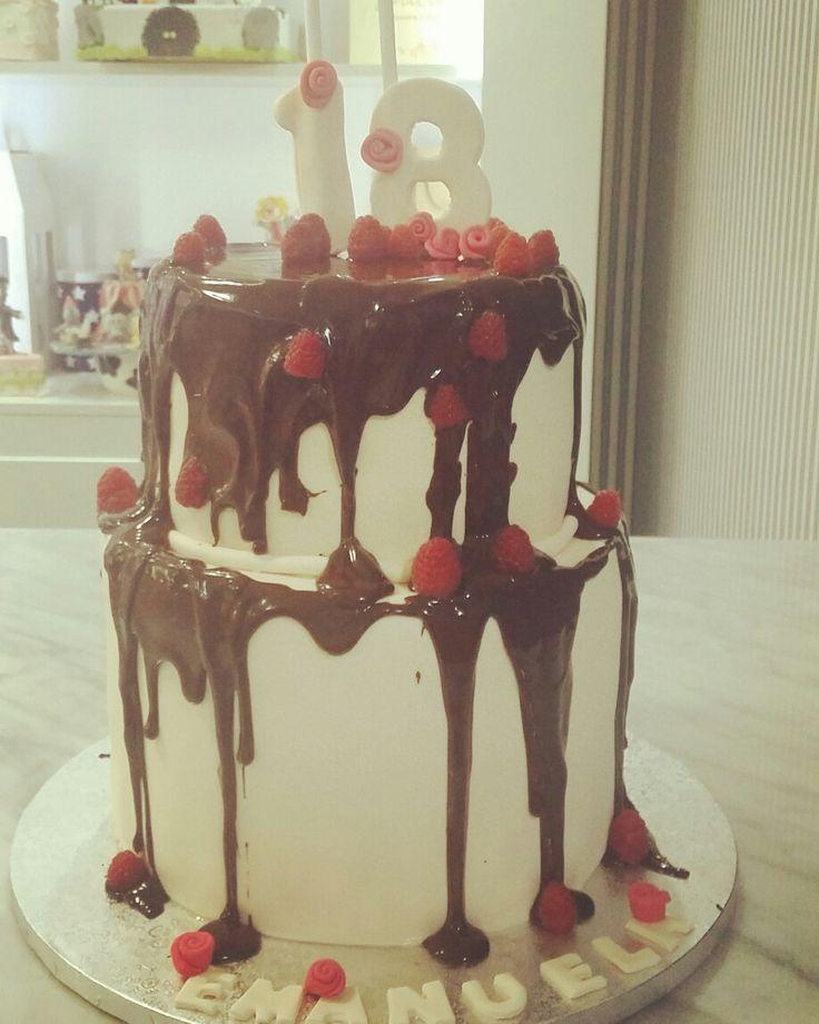 Eighteen years cake