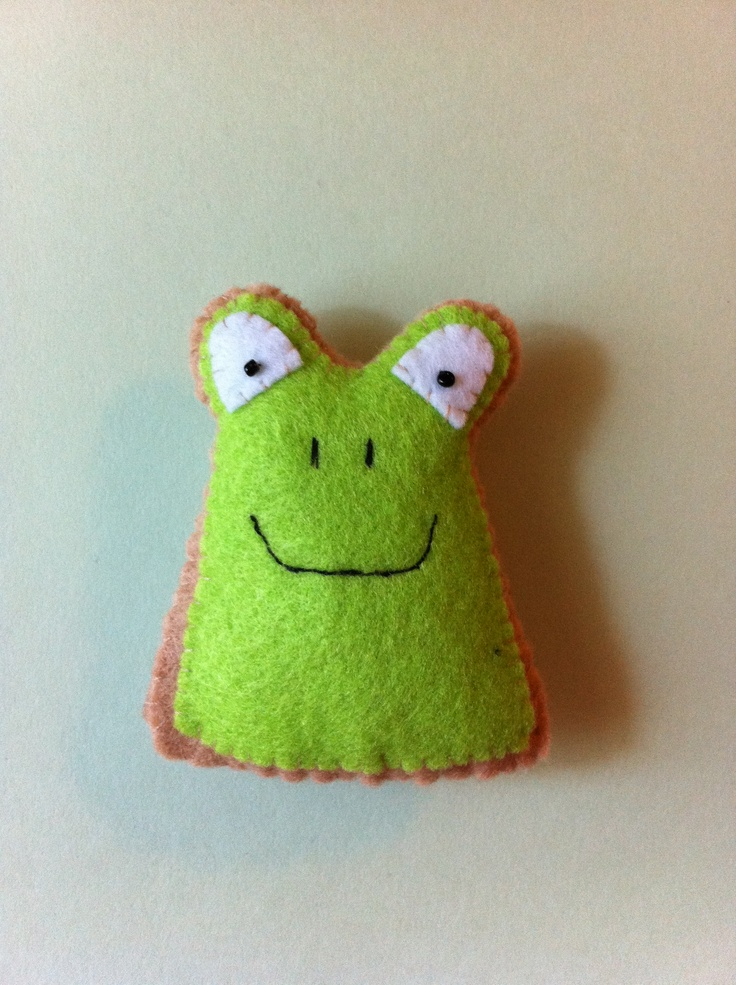 - Frog from the 'Animal Crackers' collection