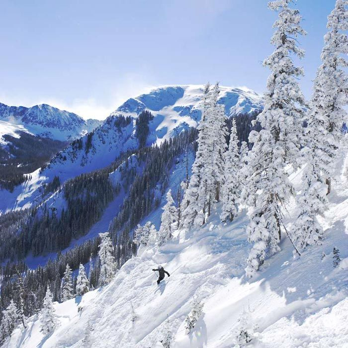 #5 Favorite Ski Location  Taos - New Mexico  Sunny weather, awesome Black Diamond Runs. Very few slope side amenities.