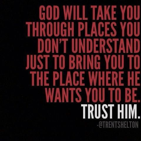 Image result for trusting in God takes time