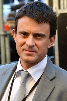 Manuel Valls. Prime Minister of France. Socialist Party.