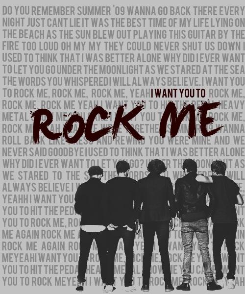 ROCK ME ROCK ME YEAH