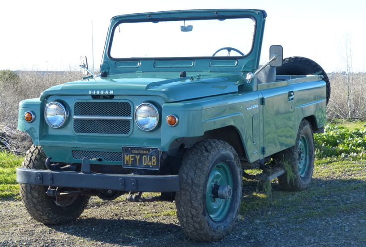 1964 Nissan Patrol Front