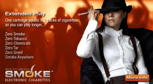 The next generation of electronic cigarettes is brought to you by South Beach Smoke Electronic Cigarettes.