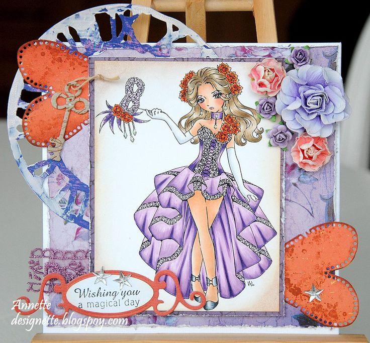 Dominique Digi Stamp in Digital images