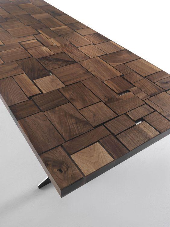 Rectangular wooden table GOODWOOD - @riva1920