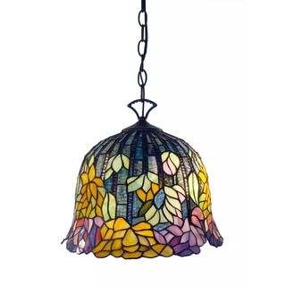 Shop for Tiffany-style Brittney Hanging Lamp. Get free shipping at Overstock.com - Your Online Home Decor Outlet Store! Get 5% in rewards with Club O!