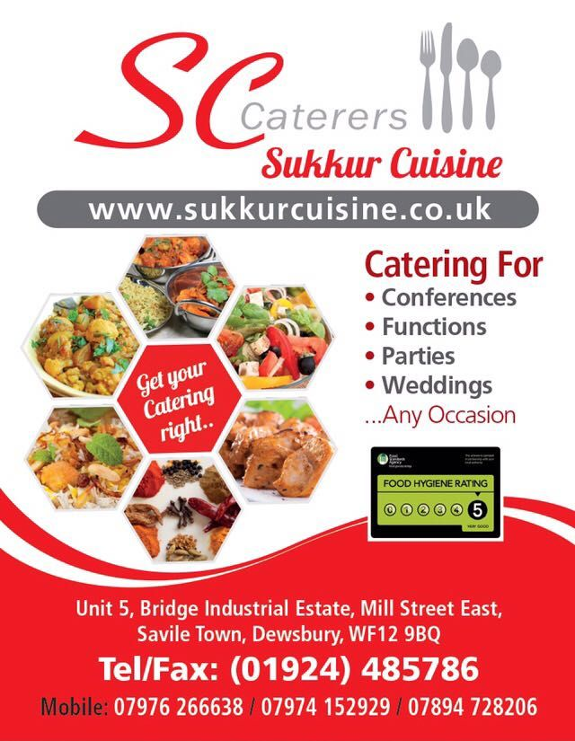 Halal Caterers Based In Dewsbury Cater For Weddings Other Occasions Catering Options Hygienic Food Catering