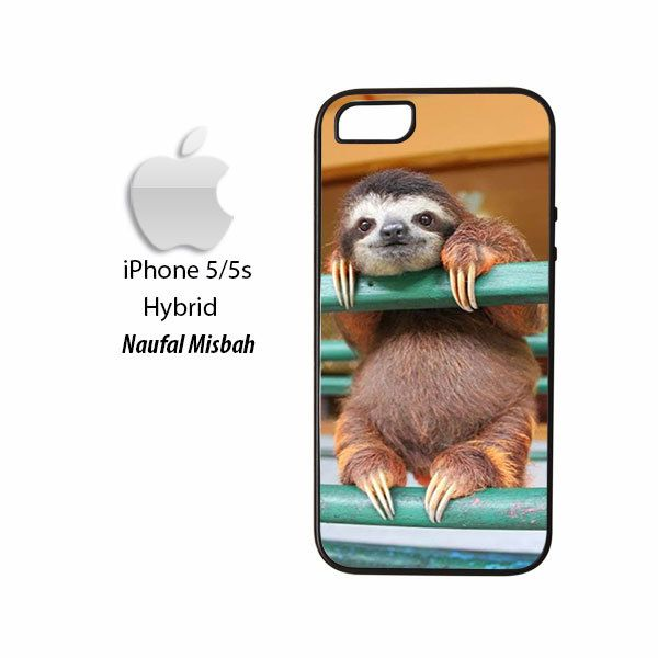 Cute Sloth Baby Camera Picture iPhone 5/5s HYBRID Case Cover