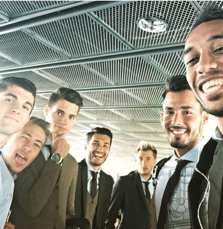 Borussia Dortmund selfie.